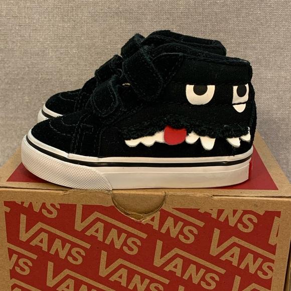 Vans Toddler Monster Face SK8 Mid Reissue V Shoes